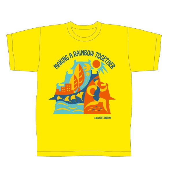2015大阪マラソンTシャツ